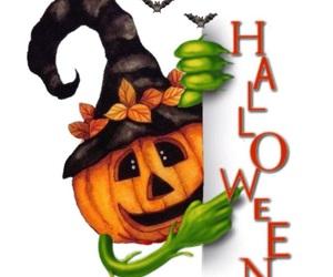Halloween and calabaza image