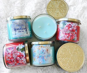 candles, bath and body works, and thatsheart image