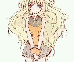 vocaloid, anime girl, and seeu image