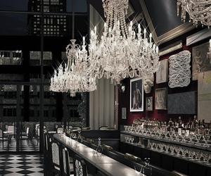 bar, chandelier, and blog image