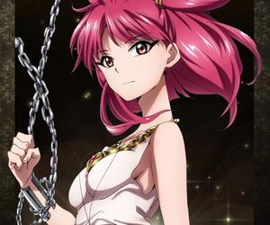 anime, girl, and morgiana image