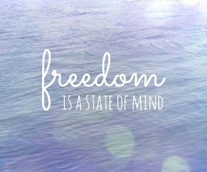 freedom, mind, and ocean image