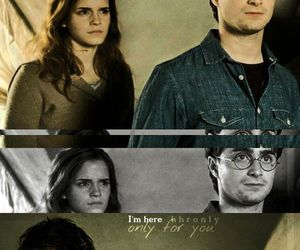 harmony, harry potter, and love image