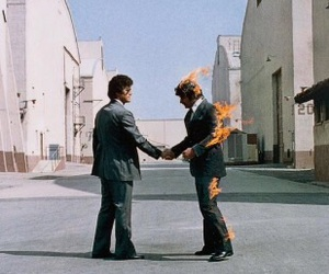 Pink Floyd and wish you were here image