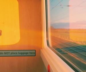 sky, tumblr, and yellow image