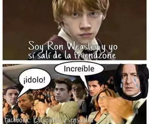 harry potter, friendzone, and funny image