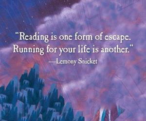 book, escape, and quote image