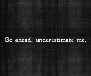 quotes, underestimate, and life image