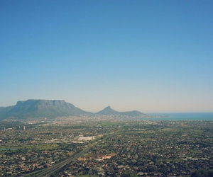africa, cape town, and landscape image