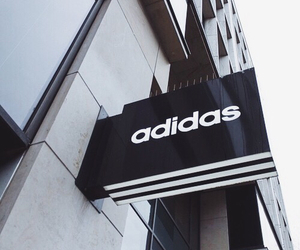 adidas, tumblr, and black and white image