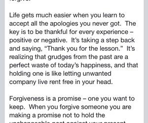 advice, apology, and forgive image