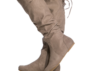 boots, fall, and taupe image