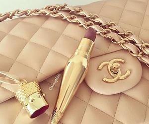 chanel, lipstick, and luxury image