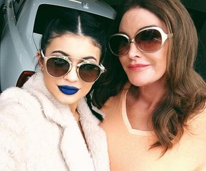 kylie jenner and caitlyn jenner image