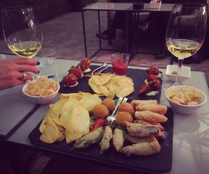 Aperitivo, autumn, and chips image
