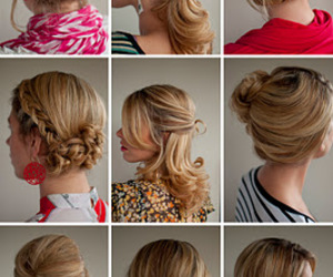 blond, hair, and braid image