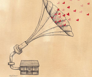 music, love, and cute image