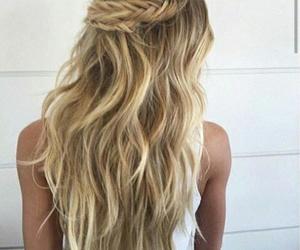 hair, penteado, and cabelo image