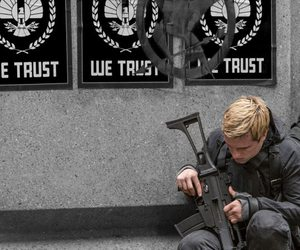 mockingjay and peeta mellark image