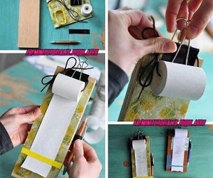 clipboard, diy, and cute image