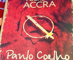 paulo coelho and manuscript found in accra image