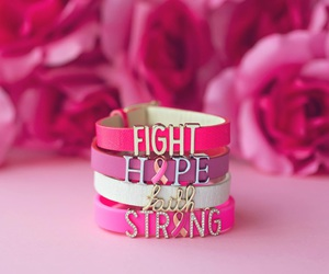 breast cancer, fight, and hope image