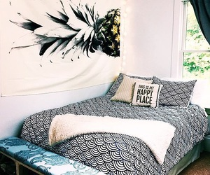 pineapple, room, and room tour image