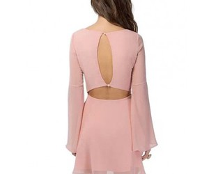 backless, long sleeve, and v neck image