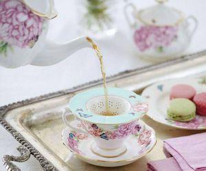 beautiful and tea image