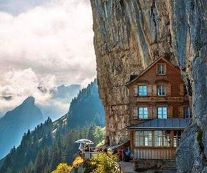 nature, switzerland, and restaurant image