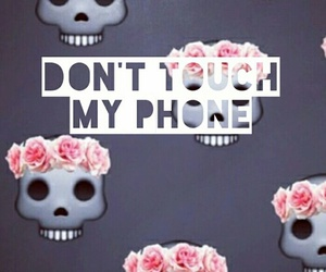 emoji, phone, and wallpaper image