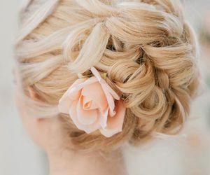 beautiful, hair, and wedding image