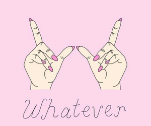 forever, pink, and nails image