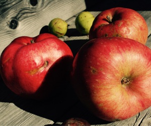 apples, red apples, and autumn image