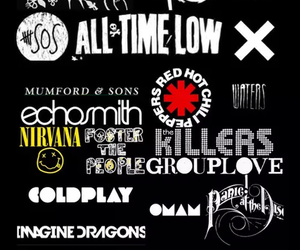 arctic monkeys, bands, and coldplay image