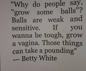 girl and betty white image
