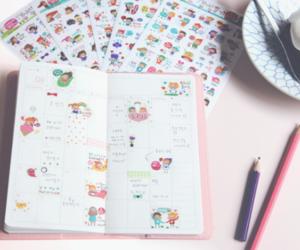 korean, planner, and cute image