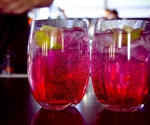 alcohol, drink, and lemon image
