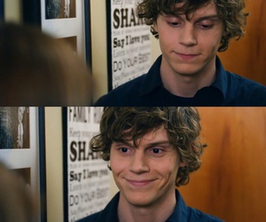 evan peters, ahs, and boy image