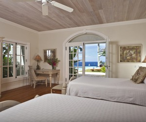 beautiful, bedroom, and Caribbean image