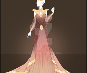 dress, medieval, and fashion image