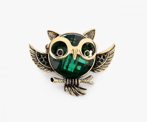 animal rings, owl rings, and antique owl rings image