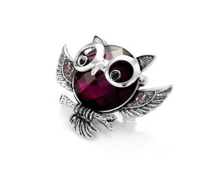 animal rings, owl rings, and cocktail rings image