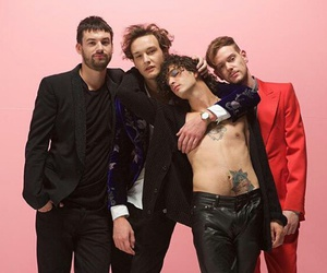 love me, the 1975, and pink image