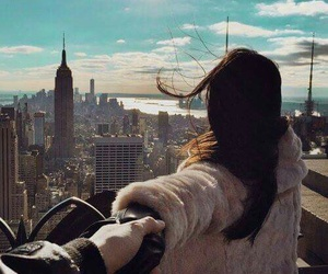 girl, love, and new york image