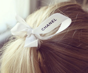 chanel, girly, and hair image