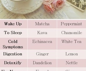 healthy and tea image