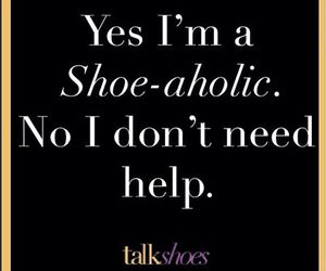 quote, shoes, and words image