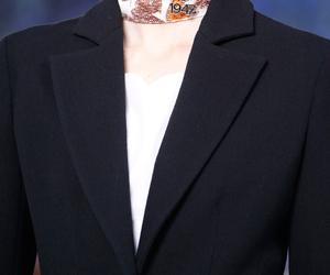 Christian Dior, collar, and black blazer image
