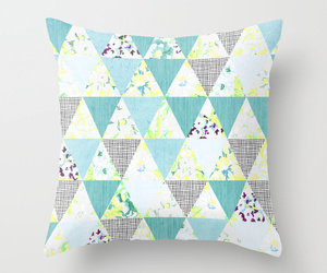 geometric, mint, and pastel image